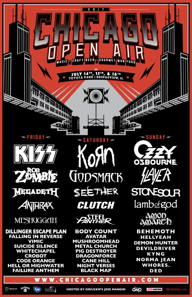 Line-up do Chicago Open Air 2017