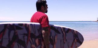 Chino Moreno (Deftones) e o surf