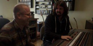 Dave Grohl no estúdio Laundry Room