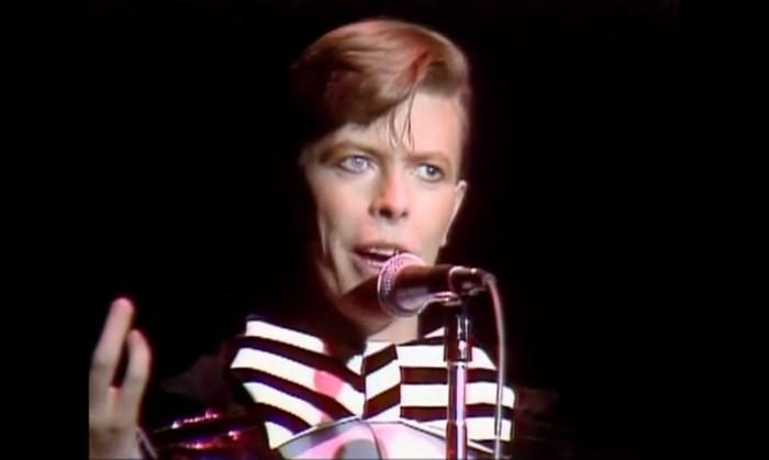 David Bowie no Saturday Night Live em 1979