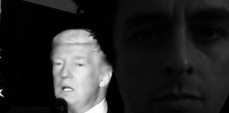 Donald Trump e Billie Joe, do Green Day