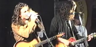 Eddie Vedder e Chris Cornell no Lollapalooza 1992