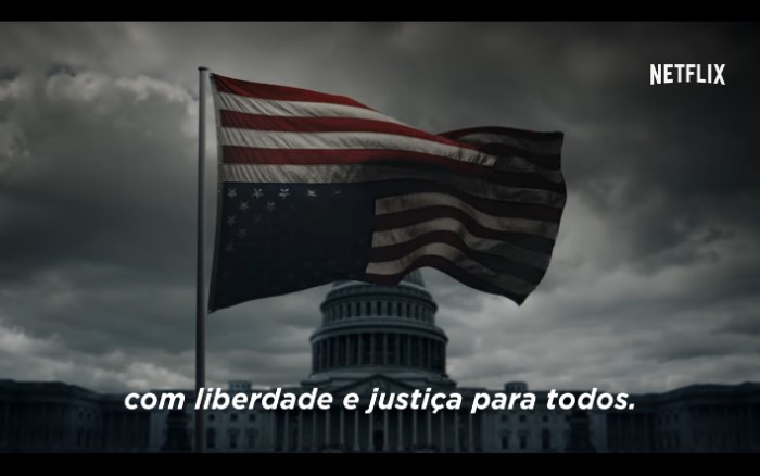 Teaser da quinta temporada de House Of Cards