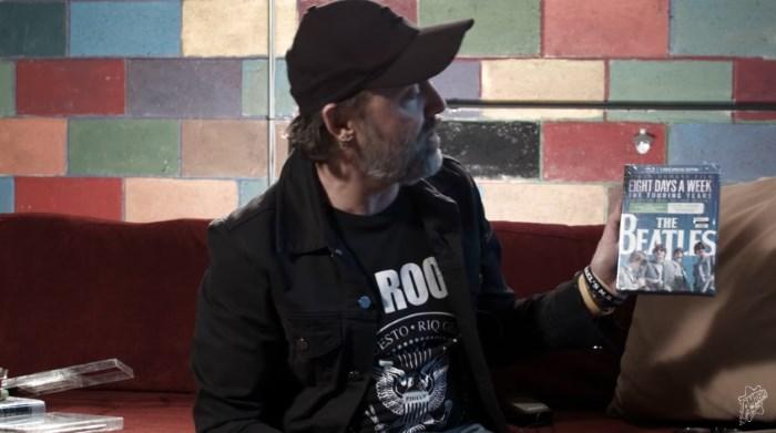 Lars Ulrich, do Metallica, na loja Amoeba