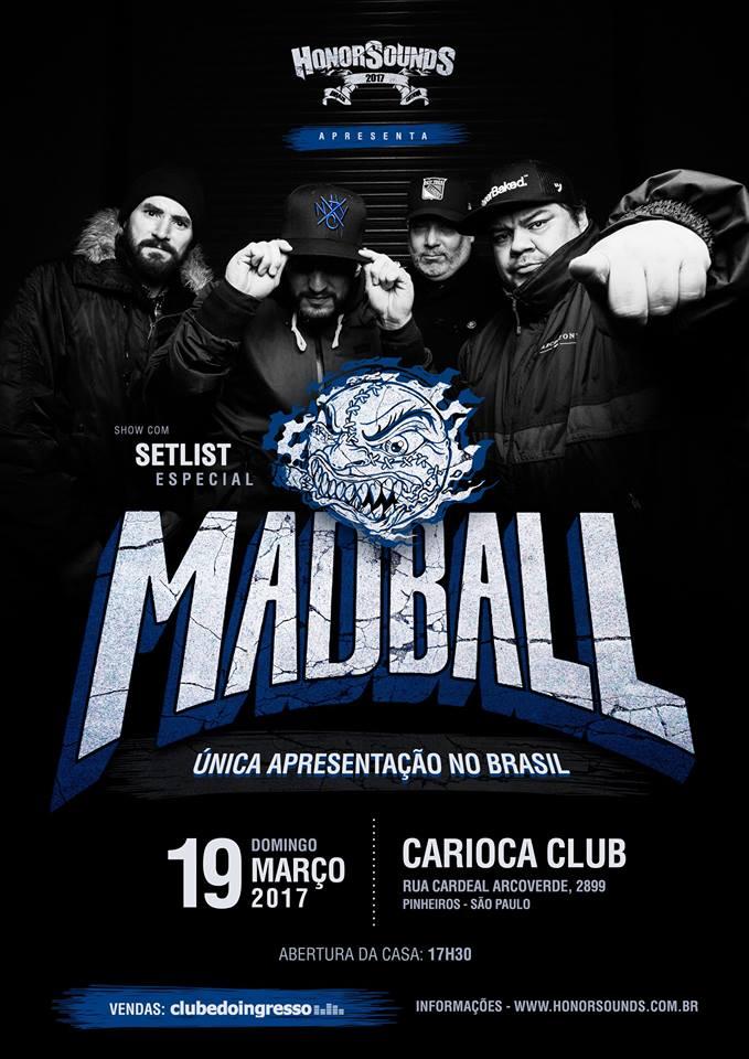 Madball no Brasil