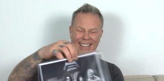 Música do Metallica é recriada com risadas de James Hetfield
