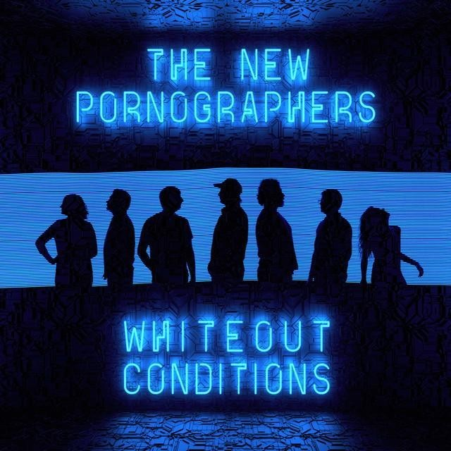 """capa do """"whiteout conditions"""" do the new pornographers"""