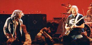 Pearl Jam e Neil Young no VMA em 1993