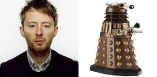 Radiohead queria um Dalek em capa de disco