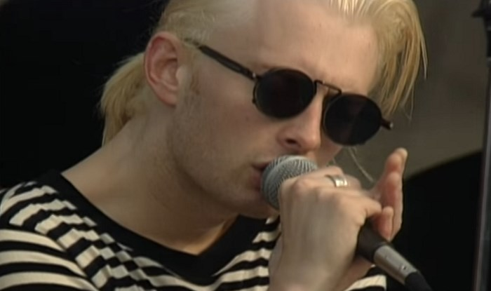 Radiohead no MTV Beach House