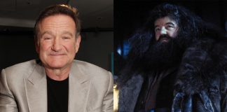 Robin Williams pediu parar ser Hagrid