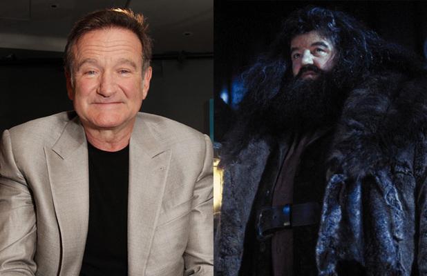 Robin Williams pediu parar ser Hagrid