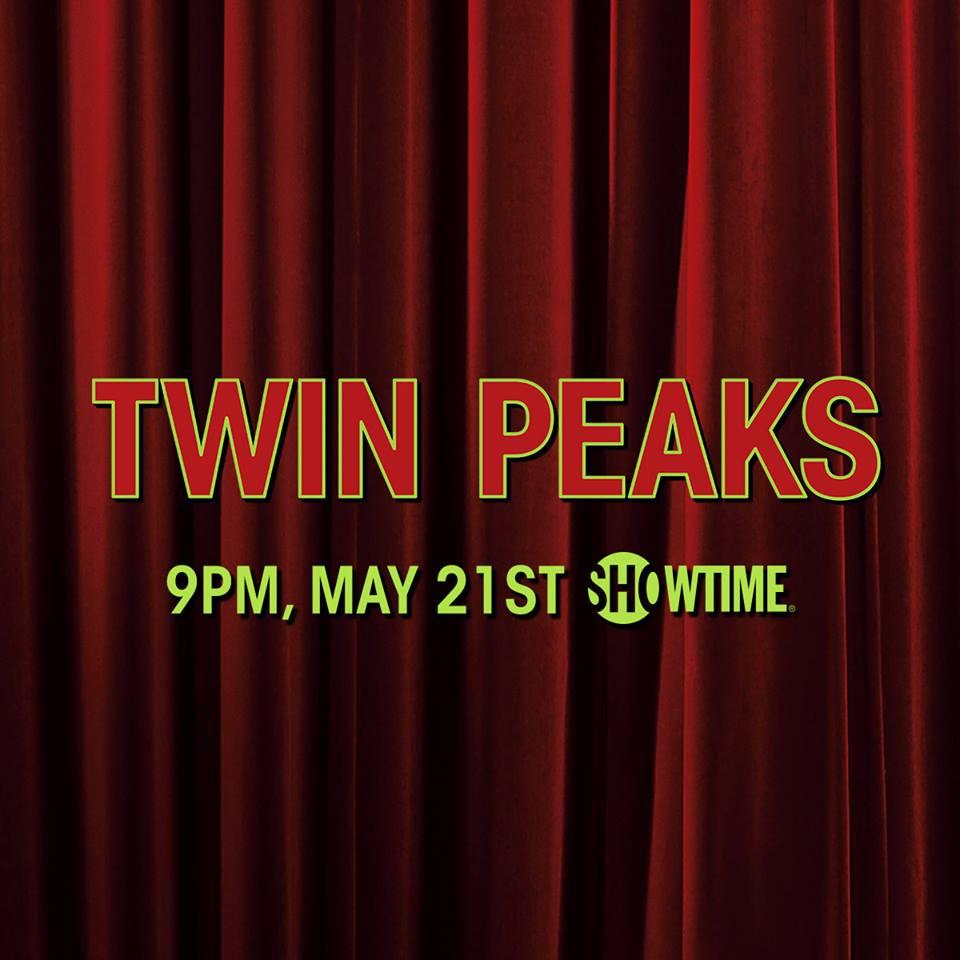 data e horário da estreia de twin peaks