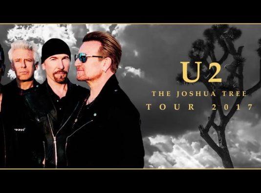 Turnê do U2 irá celebrar o disco The Joshua Tree