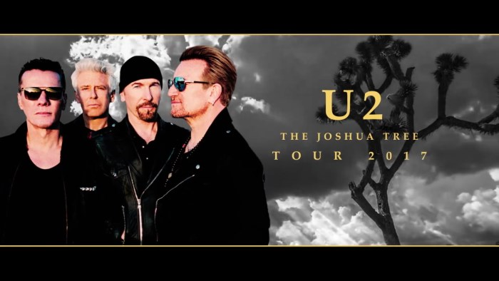 Turnê do U2 irá celebrar o disco The Joshua Tree