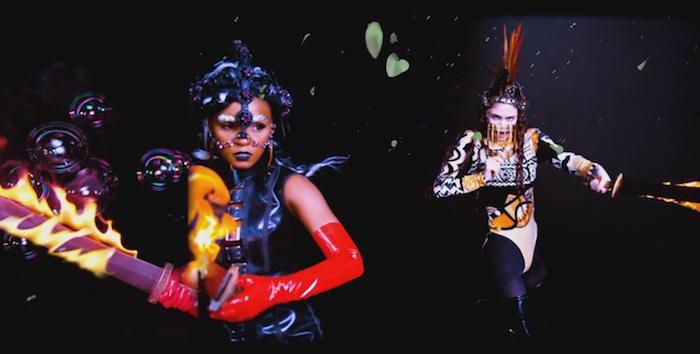 Grimes e Janelle Monáe - Venus Fly video