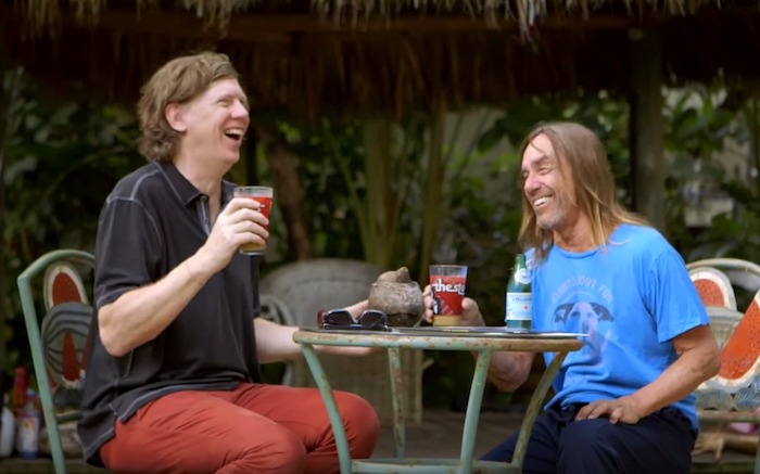 Iggy Pop e Thurston Moore - documentário