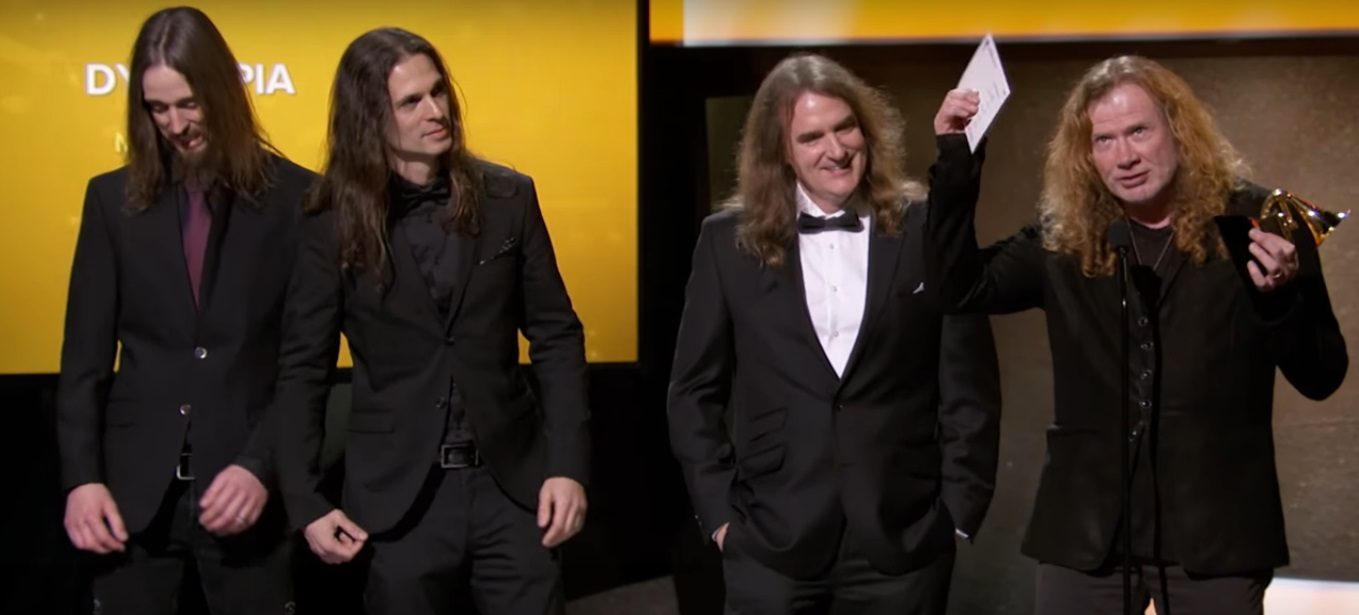 Megadeth no Grammy