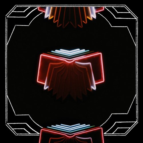 "capa do disco ""neon bible"" do arcade fire"