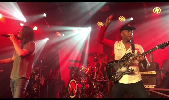 Audioslave na reunião de 2017