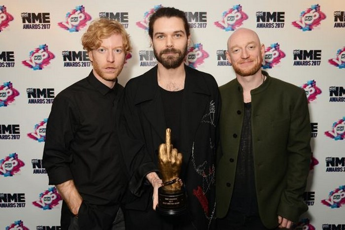 Biffy Clyro no NME Awards 2017