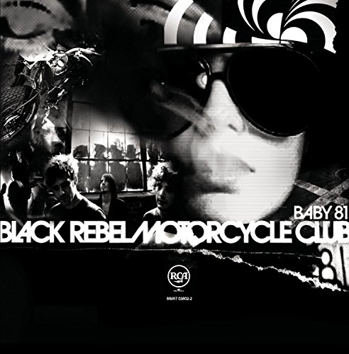 "capa do disco ""baby 81"" do black rebel motorcycle club"