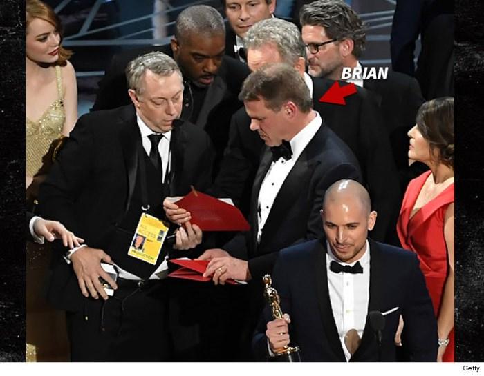 Brian Cullinan, funcionário contratado pelo Oscar
