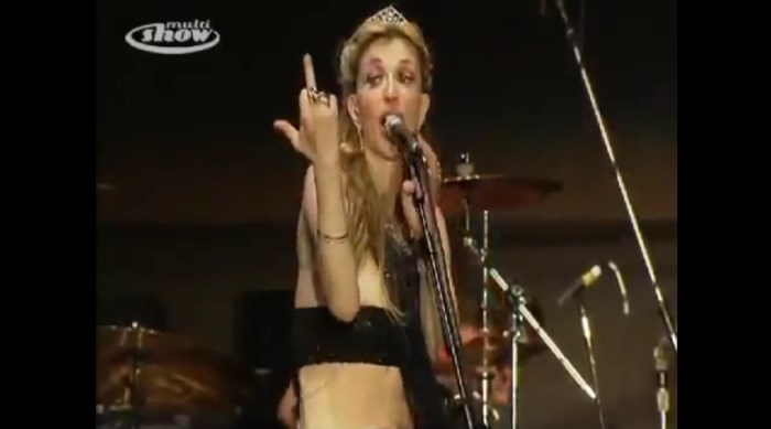 Courtney Love no SWU 2011