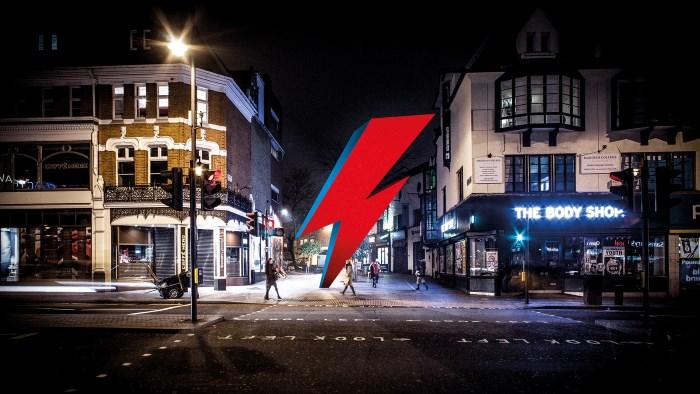 Projeto para estátua de David Bowie em Brixton