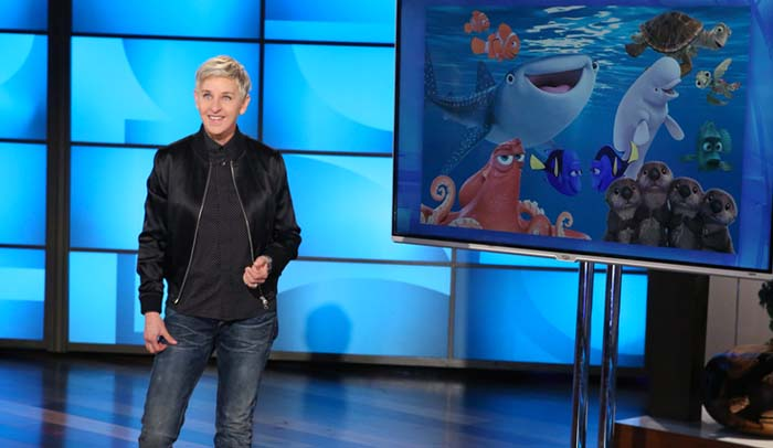 Ellen DeGeneres usa 'Procurando Dory' para criticar Donald Trump
