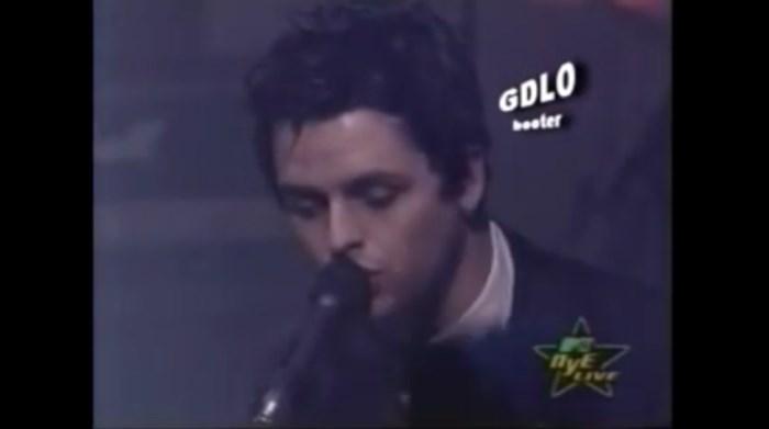 Green Day na festa de Ano Novo da MTV