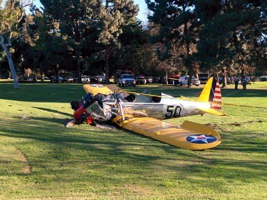 Acidente de avião com Harrison Ford em 2015