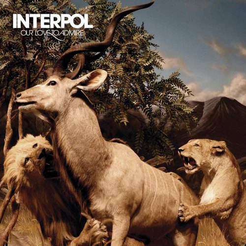 "capa do disco ""our love to admire"" do interpol"