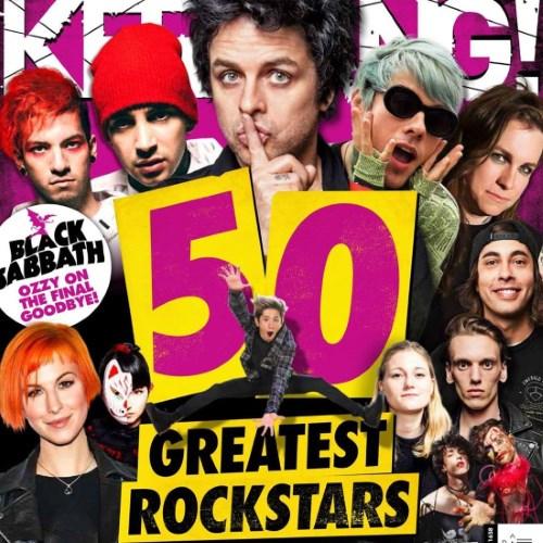 Capa do especial da Kerrang