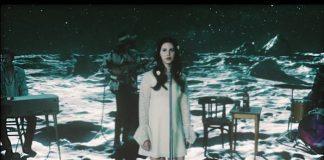 Lana Del Rey no clipe de Love