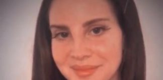 Lana Del Rey em vídeo no Instagram
