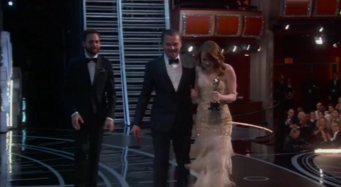 Leonardo DiCaprio no Oscar 2017