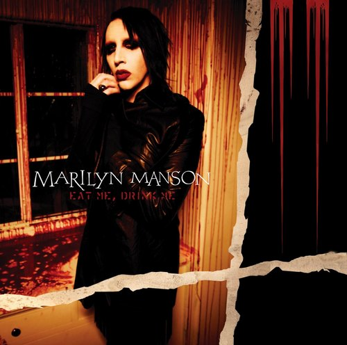 "capa do disco ""eat me, drink me"" do marilyn manson"