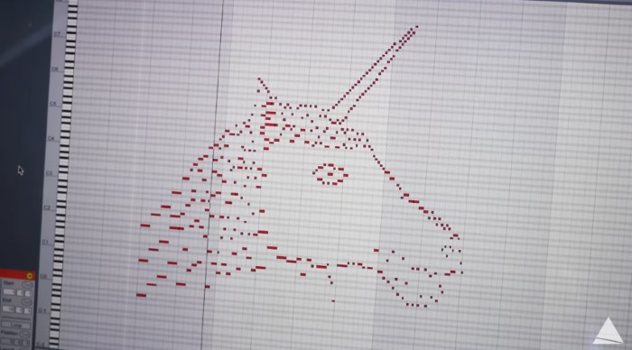 desenho de unicórnio vira música e autor explica processo de criação