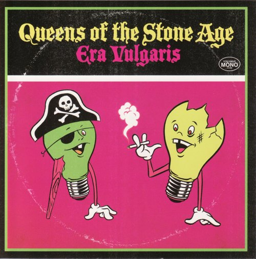 "capa do disco ""era vulgaris"" do queens of the stone age"