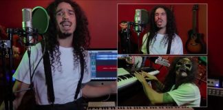 Anthony Vincent regrava Chop Suey do System Of A Down