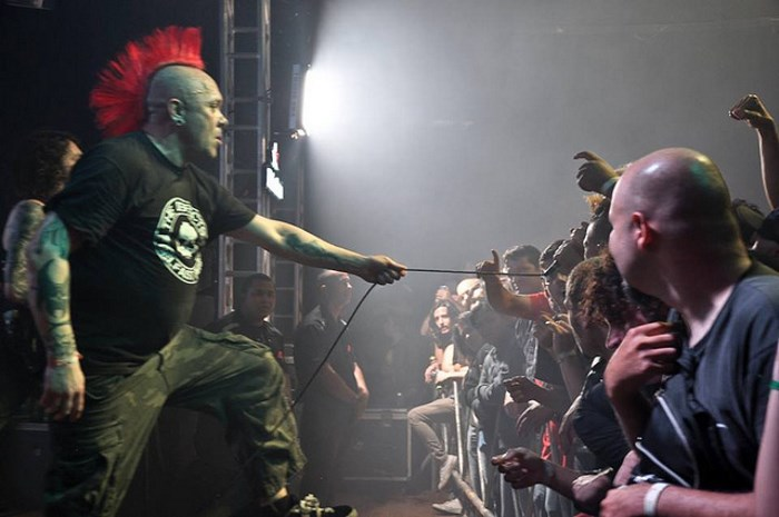 The Exploited ao vivo