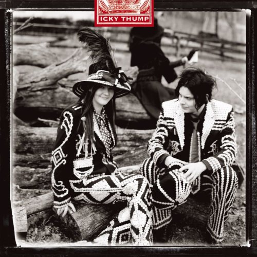 "capa do disco ""icky thump"" do the white stripes"