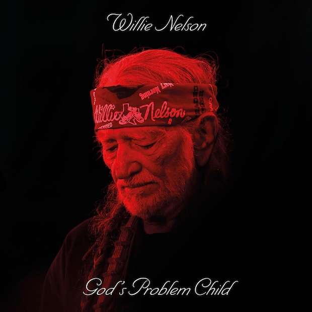 Willie Nelson - God's Problem Child capa