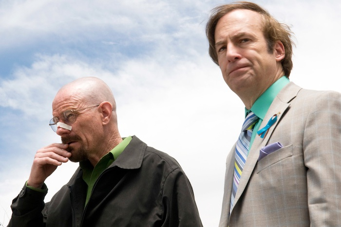 Bryan Cranston e Bob Odenkirk em Breaking Bad