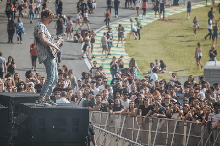 Glass Animals no Lollapalooza Brasil 2017
