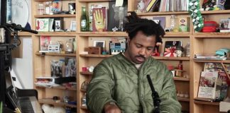 Sampha no Tiny Desk, da NPR