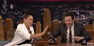 Alicia Keys no Tonight Show