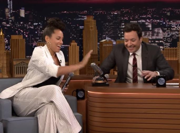 Alicia Keys no Tonight Show