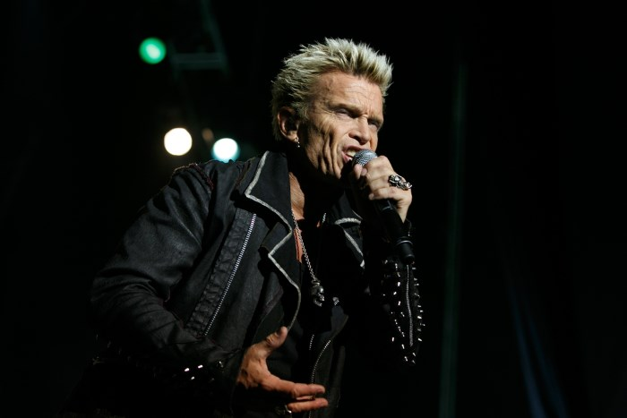 Billy Idol em Portugal (2012)